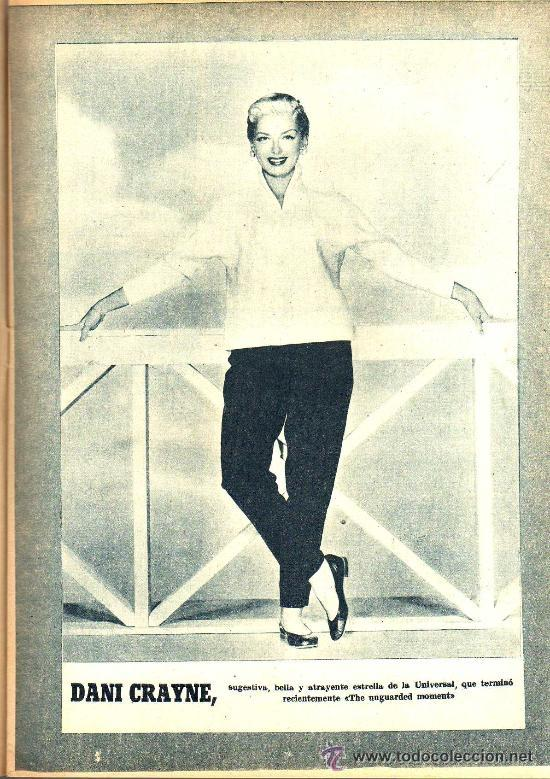 Cine: RADIOCINEMA Nº 327 - 27 OCTUBRE 1956 - PORTADA JORGE RIVIERE - CONTRAPORTADA GIA SCALA - Foto 4 - 38401658