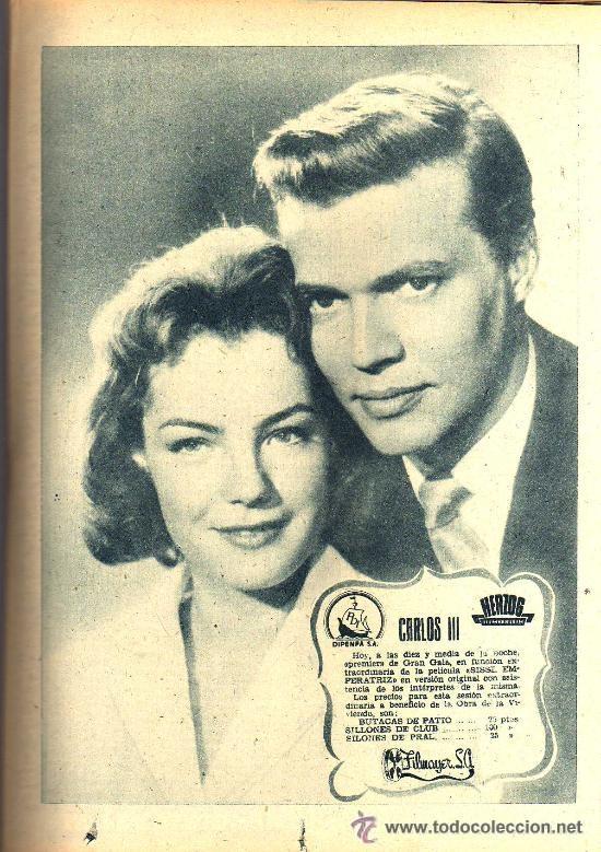 Cine: RADIOCINEMA Nº 339 - 19 ENERO 1957 - PORTADA JANE POWELL - CONTRAPORTADA ANN BLYTH - Foto 5 - 38401387