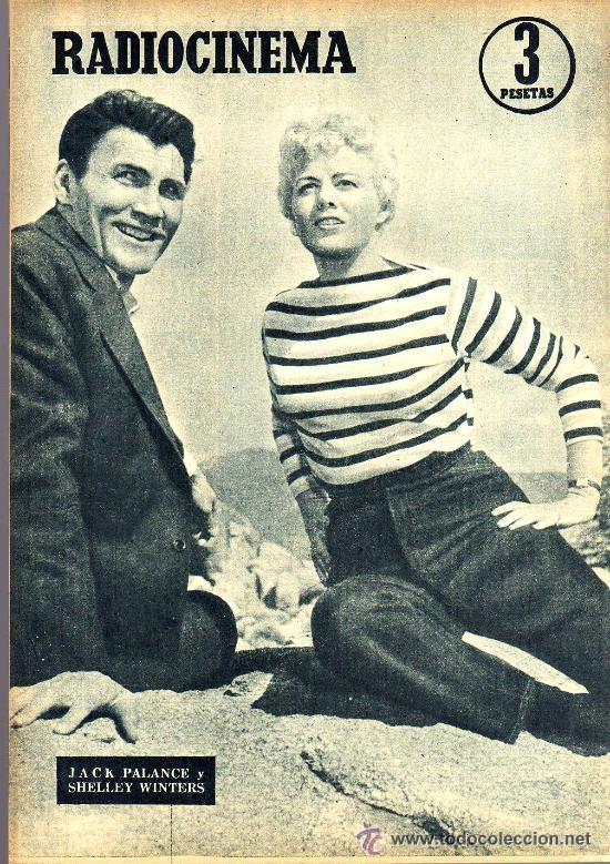 Cine: RADIOCINEMA Nº 332 - 1 DICIEMBRE 1956 - PORTADA PAQUITA RICO - CONTRAPORTADA JACK PALANCE - Foto 2 - 38401671