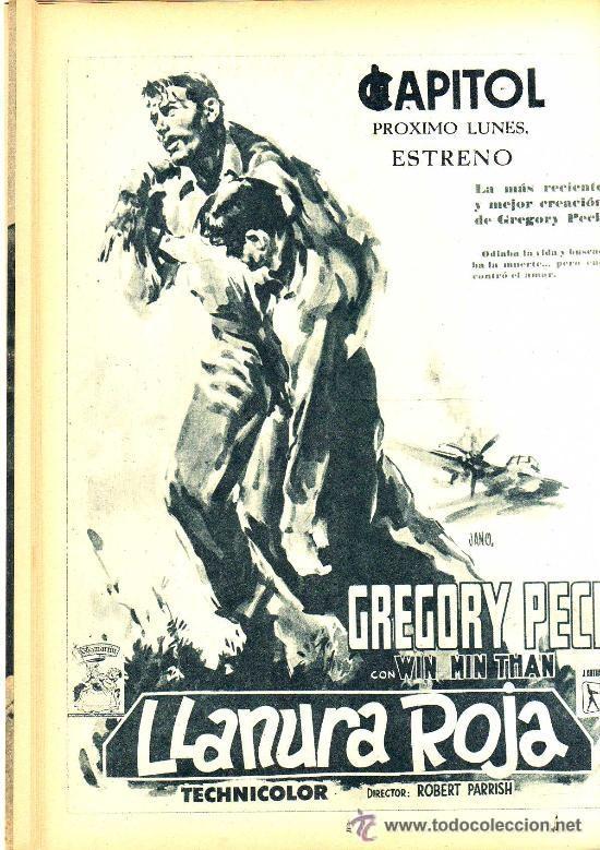 Cine: RADIOCINEMA Nº 332 - 1 DICIEMBRE 1956 - PORTADA PAQUITA RICO - CONTRAPORTADA JACK PALANCE - Foto 5 - 38401671