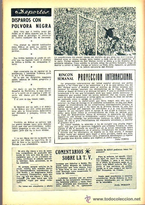 Cine: RADIOCINEMA Nº 332 - 1 DICIEMBRE 1956 - PORTADA PAQUITA RICO - CONTRAPORTADA JACK PALANCE - Foto 6 - 38401671
