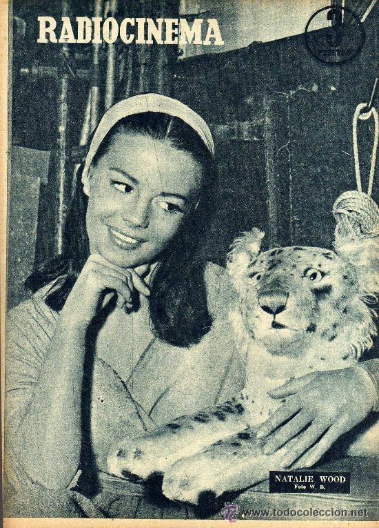 Cine: RADIOCINEMA Nº 350 -6 ABRIL 1957 - PORTADA LINDA DARNELL - CONTRAPORTADA NATALIE WOOD - Foto 2 - 38401682