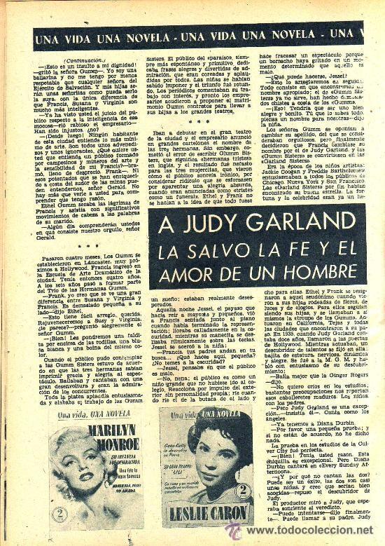 Cine: RADIOCINEMA Nº 339 - 19 ENERO 1957 - PORTADA JANE POWELL - CONTRAPORTADA ANN BLYTH - Foto 6 - 38401387