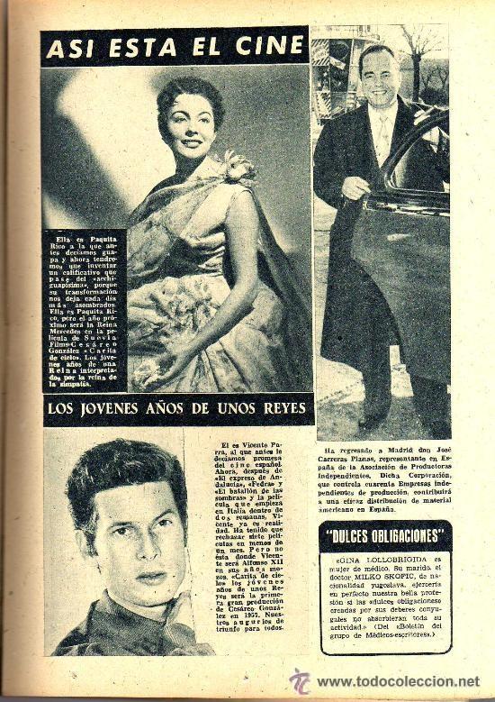Cine: RADIOCINEMA Nº 334 - 15 DICIEMBRE 1956 - PORTADA LES NAJARRO - CONTRAPORTADA AUDREY HEPBURN - Foto 5 - 38401710
