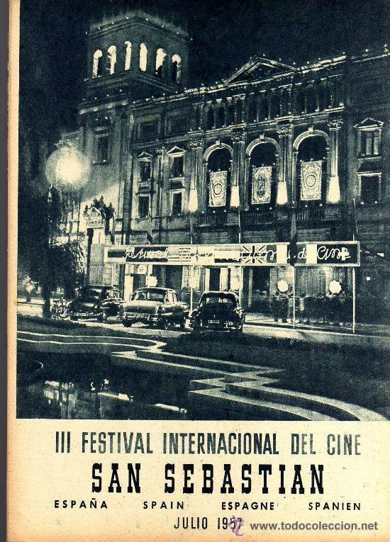 Cine: RADIOCINEMA Nº 365 - 20 JULIO 1957 - PORTADA ZULLY MORENO - CONTRAPORTADA FESTIVAL DE SAN SEBASTIAN - Foto 3 - 38401434