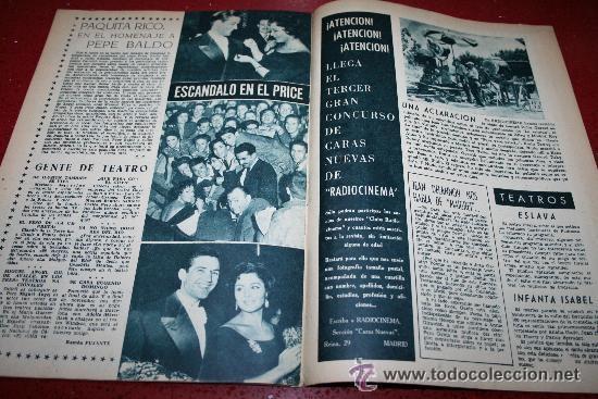 Cine: RADIOCINEMA Nº 379 - 19 OCTUBRE 1957 - PORTADA ELLEN DREW - CONTRAPORTADA ROCK HUDSON - Foto 3 - 38401759