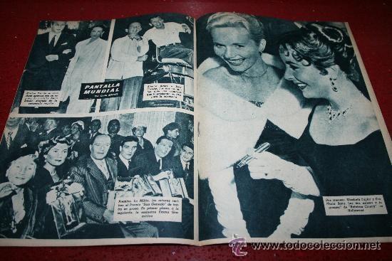 Cine: RADIOCINEMA Nº 379 - 19 OCTUBRE 1957 - PORTADA ELLEN DREW - CONTRAPORTADA ROCK HUDSON - Foto 4 - 38401759