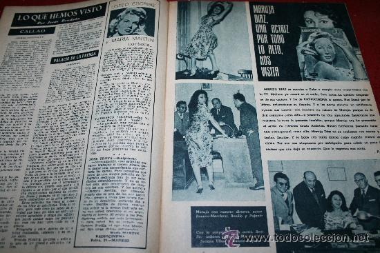 Cine: RADIOCINEMA Nº 379 - 19 OCTUBRE 1957 - PORTADA ELLEN DREW - CONTRAPORTADA ROCK HUDSON - Foto 5 - 38401759