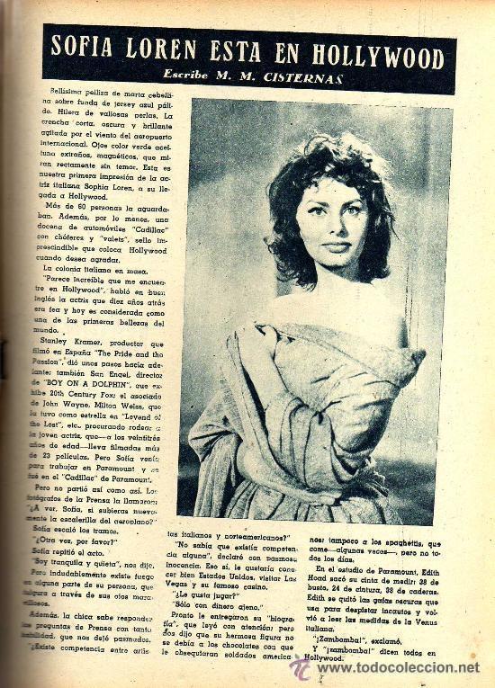 Cine: RADIOCINEMA Nº 354 -4 MAYO 1957 - PORTADA JACK MAHONEY - CONTRAPORTADA GEORGE NADER - Foto 7 - 38408910