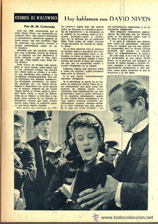 Cine: RADIOCINEMA Nº 337 - 5 ENERO 1957 - PORTADA CARMEN MORELL Y PEPE BLANCO - CONTRAPORTADA NATALIE WOOD - Foto 5 - 38408984