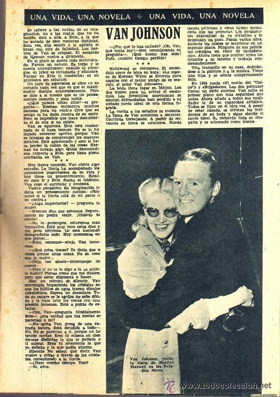 Cine: RADIOCINEMA Nº 337 - 5 ENERO 1957 - PORTADA CARMEN MORELL Y PEPE BLANCO - CONTRAPORTADA NATALIE WOOD - Foto 6 - 38408984