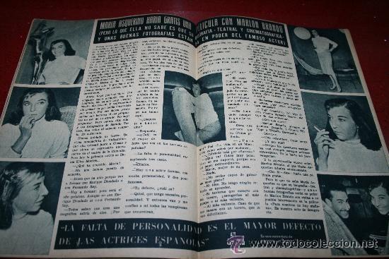 Cine: RADIOCINEMA Nº 376 - 5 SEPTIEMBRE 1957 - PORTADA MICHELLE MORGAN - CONTRAPORTADA BARBARA LANG - Foto 2 - 38409016