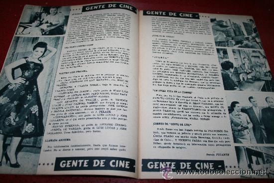 Cine: RADIOCINEMA Nº 376 - 5 SEPTIEMBRE 1957 - PORTADA MICHELLE MORGAN - CONTRAPORTADA BARBARA LANG - Foto 5 - 38409016