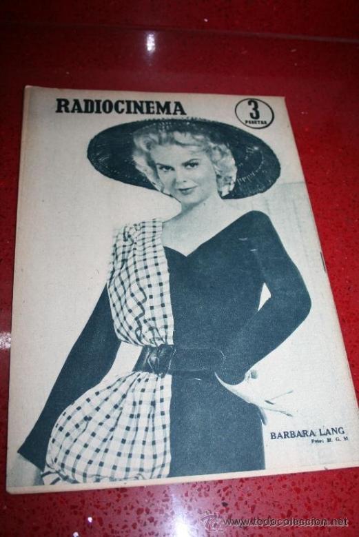 Cine: RADIOCINEMA Nº 376 - 5 SEPTIEMBRE 1957 - PORTADA MICHELLE MORGAN - CONTRAPORTADA BARBARA LANG - Foto 7 - 38409016