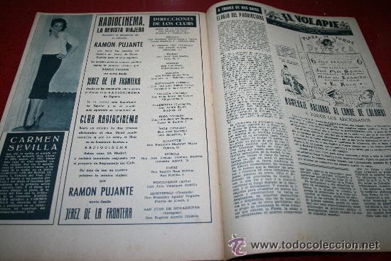 Cine: RADIOCINEMA Nº 345 - 2 MARZO 1957 - PORTADA C.H. WESSELY - CONTRAPORTADA TONY CURTIS - Foto 2 - 38412126