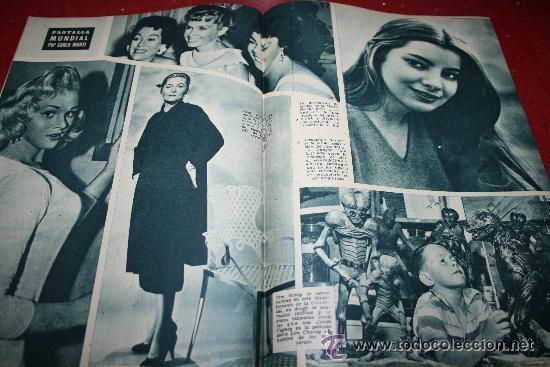 Cine: RADIOCINEMA Nº 345 - 2 MARZO 1957 - PORTADA C.H. WESSELY - CONTRAPORTADA TONY CURTIS - Foto 3 - 38412126