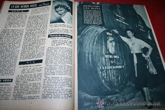 Cine: RADIOCINEMA Nº 345 - 2 MARZO 1957 - PORTADA C.H. WESSELY - CONTRAPORTADA TONY CURTIS - Foto 4 - 38412126