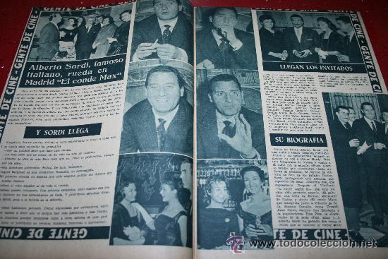 Cine: RADIOCINEMA Nº 345 - 2 MARZO 1957 - PORTADA C.H. WESSELY - CONTRAPORTADA TONY CURTIS - Foto 5 - 38412126