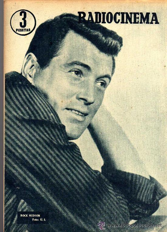 Cine: RADIOCINEMA Nº 359 -8 JUNIO 1957 - PORTADA RHONDA FLEMING - CONTRAPORTADA ROCK HUDSON - Foto 2 - 38412132
