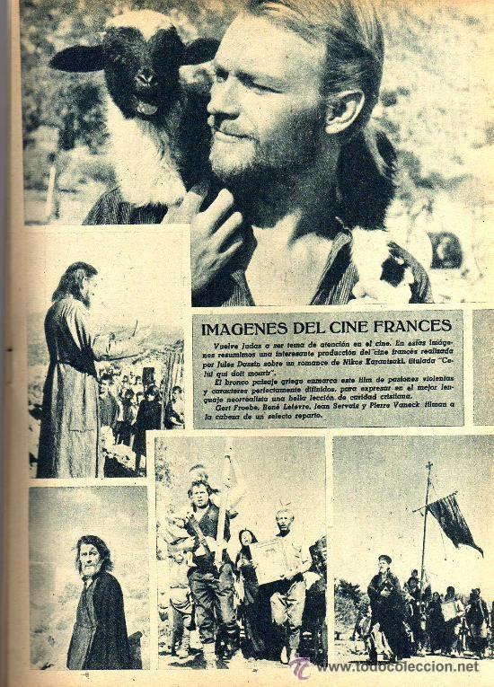 Cine: RADIOCINEMA Nº 359 -8 JUNIO 1957 - PORTADA RHONDA FLEMING - CONTRAPORTADA ROCK HUDSON - Foto 6 - 38412132