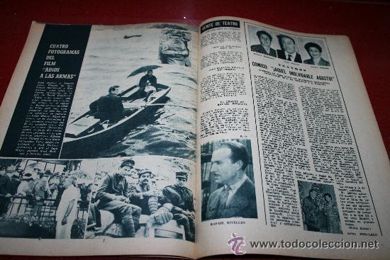 Cine: RADIOCINEMA Nº 378 - 19 OCTUBRE 1957 - PORTADA DOROTY MORRIS - CONTRAPORTADA PATRICIA OWENS - Foto 2 - 38412140