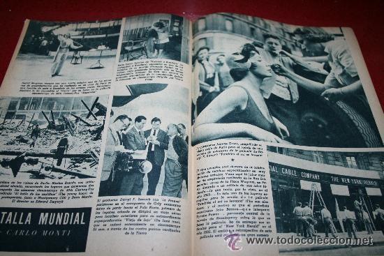Cine: RADIOCINEMA Nº 378 - 19 OCTUBRE 1957 - PORTADA DOROTY MORRIS - CONTRAPORTADA PATRICIA OWENS - Foto 3 - 38412140