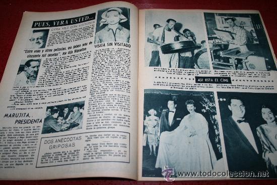 Cine: RADIOCINEMA Nº 378 - 19 OCTUBRE 1957 - PORTADA DOROTY MORRIS - CONTRAPORTADA PATRICIA OWENS - Foto 5 - 38412140