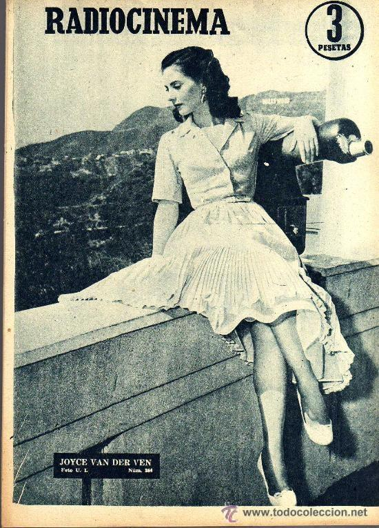 Cine: RADIOCINEMA Nº 364 - 13 JULIO 1957 - PORTADA ARMANDO OREFICHE - CONTRAPORTADA JOYCE VAN DER VEN - Foto 2 - 38412141