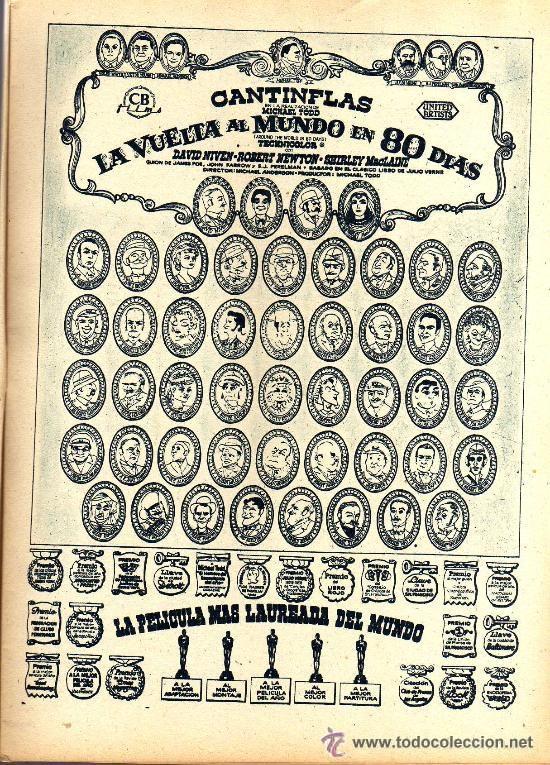 Cine: RADIOCINEMA Nº 364 - 13 JULIO 1957 - PORTADA ARMANDO OREFICHE - CONTRAPORTADA JOYCE VAN DER VEN - Foto 4 - 38412141