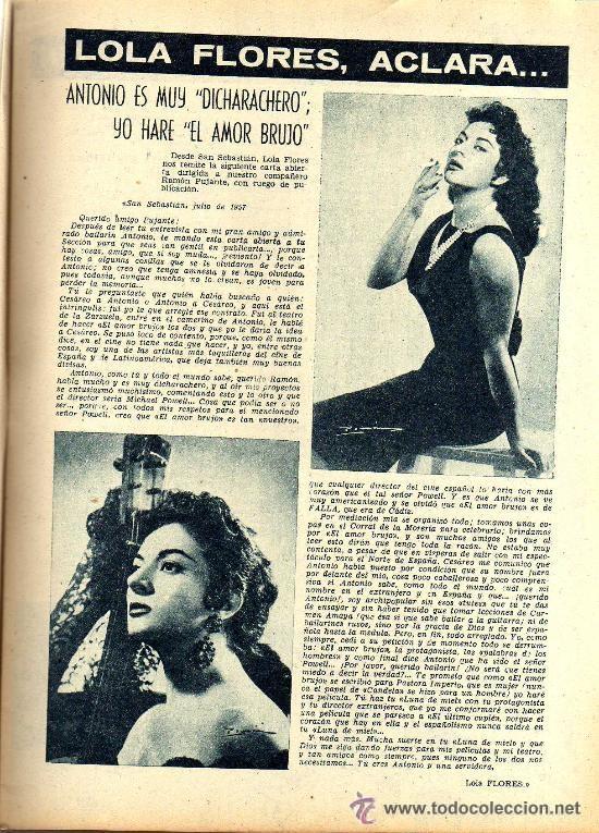 Cine: RADIOCINEMA Nº 364 - 13 JULIO 1957 - PORTADA ARMANDO OREFICHE - CONTRAPORTADA JOYCE VAN DER VEN - Foto 5 - 38412141