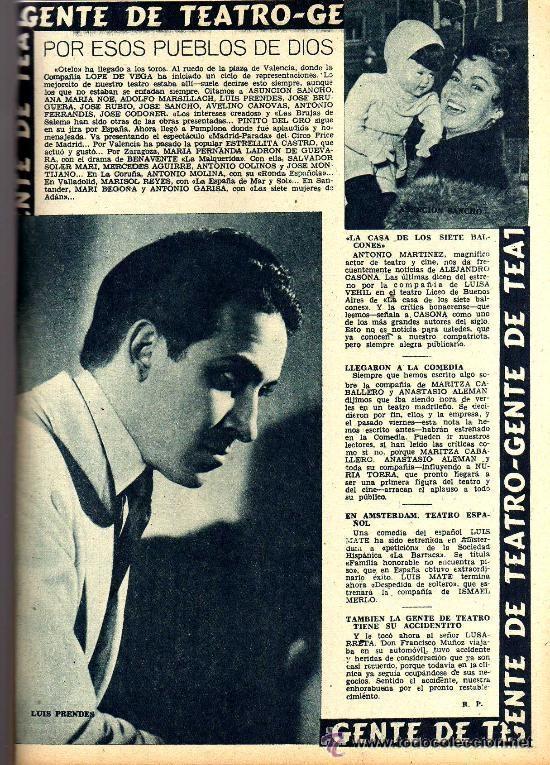 Cine: RADIOCINEMA Nº 364 - 13 JULIO 1957 - PORTADA ARMANDO OREFICHE - CONTRAPORTADA JOYCE VAN DER VEN - Foto 6 - 38412141