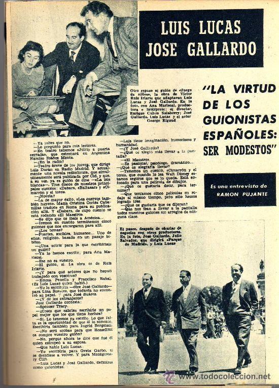 Cine: RADIOCINEMA Nº 356 -18 MAYO 1957 - PORTADA JULIE LONDON - CONTRAPORTADA RAY MILLAND - Foto 5 - 38412143