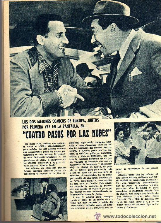 Cine: RADIOCINEMA Nº 356 -18 MAYO 1957 - PORTADA JULIE LONDON - CONTRAPORTADA RAY MILLAND - Foto 6 - 38412143