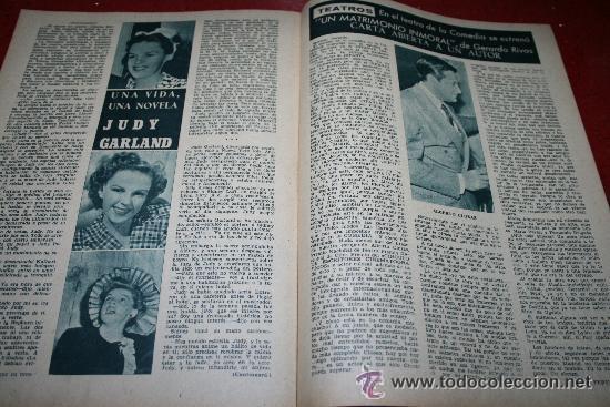 Cine: RADIOCINEMA Nº 342 - 9 FEBRERO 1957 - PORTADA ANNE SHERIDAN - CONTRAPORTADA PIER ANGELI - Foto 2 - 38412144