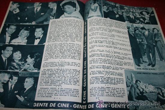Cine: RADIOCINEMA Nº 342 - 9 FEBRERO 1957 - PORTADA ANNE SHERIDAN - CONTRAPORTADA PIER ANGELI - Foto 3 - 38412144