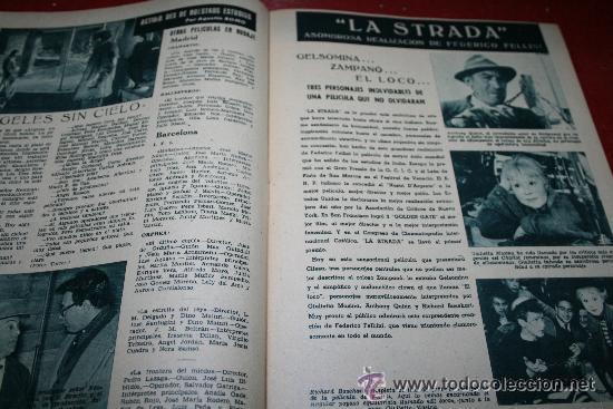 Cine: RADIOCINEMA Nº 342 - 9 FEBRERO 1957 - PORTADA ANNE SHERIDAN - CONTRAPORTADA PIER ANGELI - Foto 4 - 38412144