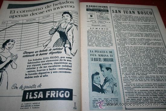 Cine: RADIOCINEMA Nº 342 - 9 FEBRERO 1957 - PORTADA ANNE SHERIDAN - CONTRAPORTADA PIER ANGELI - Foto 6 - 38412144