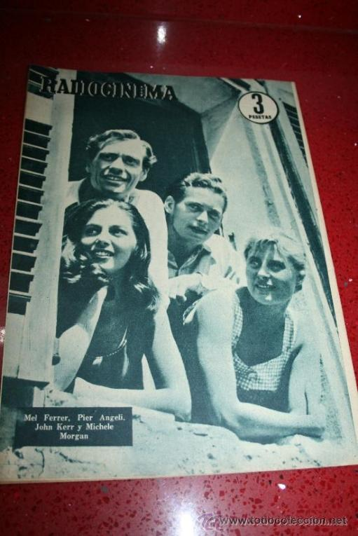 Cine: RADIOCINEMA Nº 342 - 9 FEBRERO 1957 - PORTADA ANNE SHERIDAN - CONTRAPORTADA PIER ANGELI - Foto 7 - 38412144