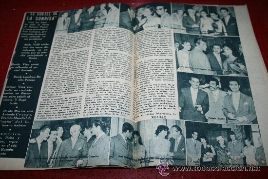 Cine: RADIOCINEMA Nº 368 - 10 AGOSTO 1957 - PORTADA JOSÉ CAMPOS - CONTRAPORTADA EVA GABOR - Foto 2 - 38412149