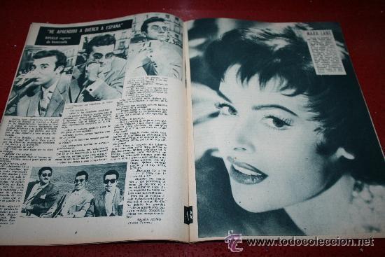 Cine: RADIOCINEMA Nº 368 - 10 AGOSTO 1957 - PORTADA JOSÉ CAMPOS - CONTRAPORTADA EVA GABOR - Foto 3 - 38412149