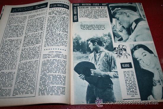 Cine: RADIOCINEMA Nº 368 - 10 AGOSTO 1957 - PORTADA JOSÉ CAMPOS - CONTRAPORTADA EVA GABOR - Foto 4 - 38412149