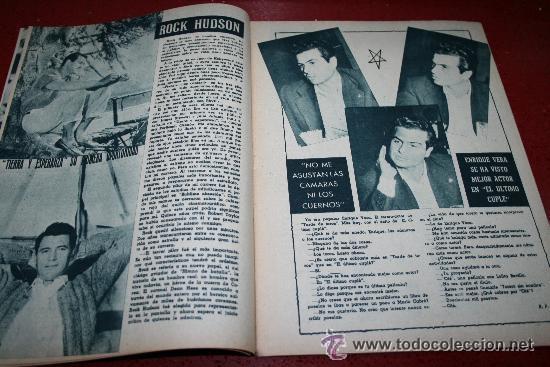 Cine: RADIOCINEMA Nº 368 - 10 AGOSTO 1957 - PORTADA JOSÉ CAMPOS - CONTRAPORTADA EVA GABOR - Foto 5 - 38412149