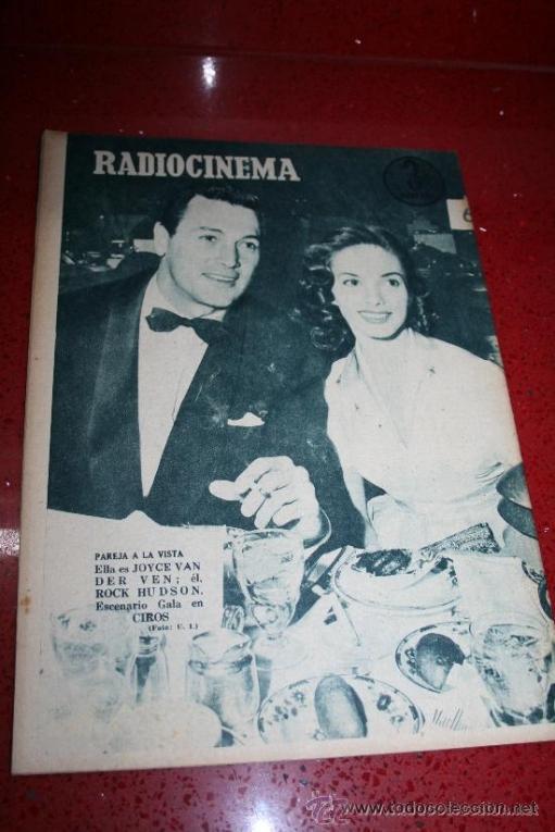 Cine: RADIOCINEMA Nº 372 - 7 SEPTIEMBRE 1957 - PORTADA MARIA MARTIN Y TRINI MONTERO. CONTRAP. ROCK HUDSON - Foto 7 - 38412150