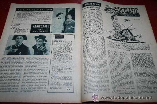 Cine: RADIOCINEMA Nº 370 - 24 AGOSTO 1957 - PORTADA ARTURO FERNANDEZ/MONTSERRAT SALVADOR - Foto 2 - 38412151