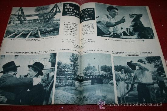 Cine: RADIOCINEMA Nº 370 - 24 AGOSTO 1957 - PORTADA ARTURO FERNANDEZ/MONTSERRAT SALVADOR - Foto 4 - 38412151