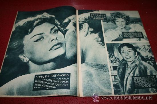 Cine: RADIOCINEMA Nº 370 - 24 AGOSTO 1957 - PORTADA ARTURO FERNANDEZ/MONTSERRAT SALVADOR - Foto 5 - 38412151