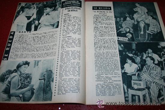 Cine: RADIOCINEMA Nº 370 - 24 AGOSTO 1957 - PORTADA ARTURO FERNANDEZ/MONTSERRAT SALVADOR - Foto 7 - 38412151