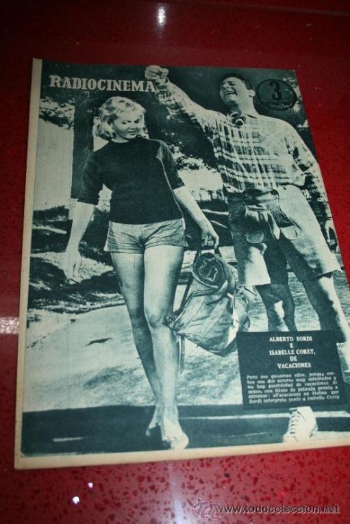 Cine: RADIOCINEMA Nº 370 - 24 AGOSTO 1957 - PORTADA ARTURO FERNANDEZ/MONTSERRAT SALVADOR - Foto 9 - 38412151