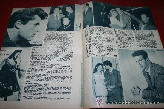 Cine: RADIOCINEMA Nº 369 - 17 AGOSTO 1957 - PORTADA MARTHA HYER - CONTRAPORTADA BARBARA VARENNA - Foto 4 - 38402516