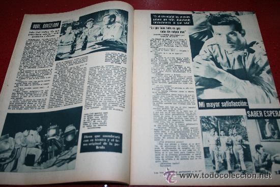 Cine: RADIOCINEMA Nº 369 - 17 AGOSTO 1957 - PORTADA MARTHA HYER - CONTRAPORTADA BARBARA VARENNA - Foto 5 - 38402516